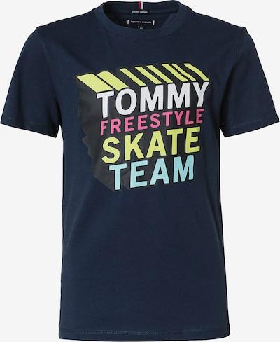 TOMMY HILFIGER Shirt in de kleur Navy / Aqua / Geel / Pink / Wit, Productweergave