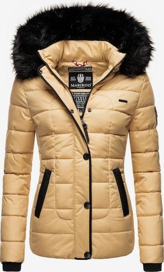MARIKOO Chaqueta de invierno 'Unique' en beige / negro, Vista del producto