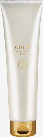 Gold Haircare Cream in weiß, Produktansicht