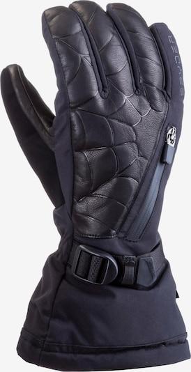 SPYDER Sporthandschuhe 'Omega' in schwarz / weiß, Produktansicht