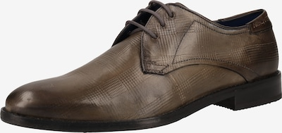 DANIEL HECHTER Schnürschuhe in schlammfarben, Produktansicht