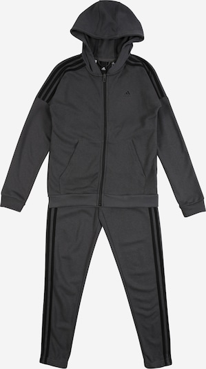 ADIDAS PERFORMANCE Tracksuit in dark grey / black, Item view