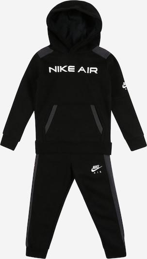 NIKE Odjeća za vježbanje u tamo siva / crna / bijela, Pregled proizvoda