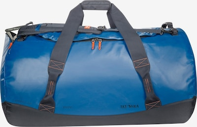 TATONKA Reisetasche 'Barrel' in blau / grau / orange, Produktansicht