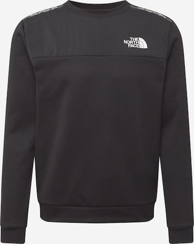 THE NORTH FACE Sportsweatshirt in de kleur Zwart / Wit, Productweergave