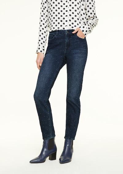 Ci comma casual identity Jeans in dunkelblau, Modelansicht