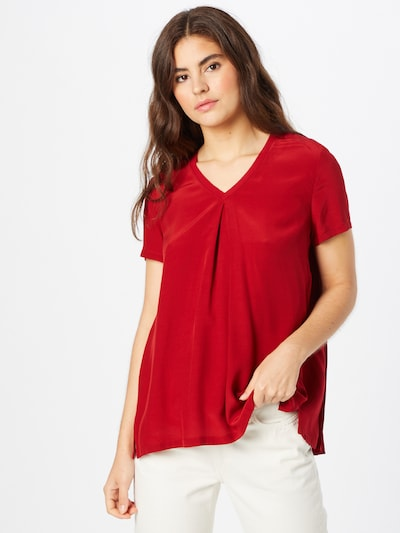 s.Oliver BLACK LABEL Blouse in Blood red, View model