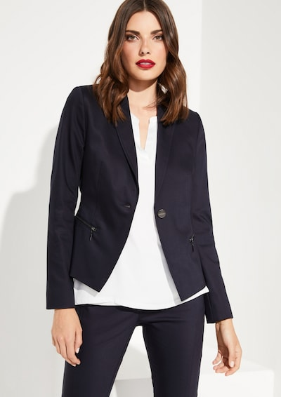 COMMA Blazer in navy, Modelansicht