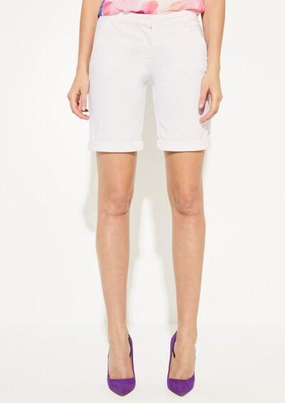 COMMA Shorts in weiß: Frontalansicht