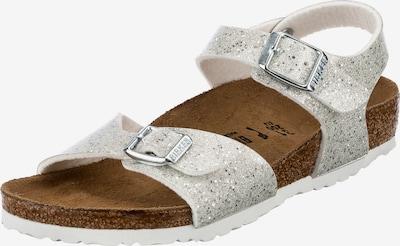 BIRKENSTOCK Sandale 'Rio' u srebro / bijela, Pregled proizvoda