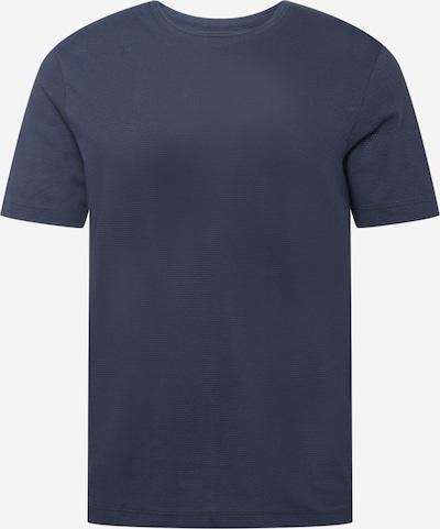 BOSS T-Shirt 'Tiburt' en bleu nuit: Vue de face