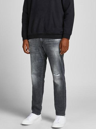 Jack & Jones Plus Jeans 'Glenn' in black denim, Modelansicht