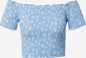 ABOUT YOU Top 'Arika' in Blauw