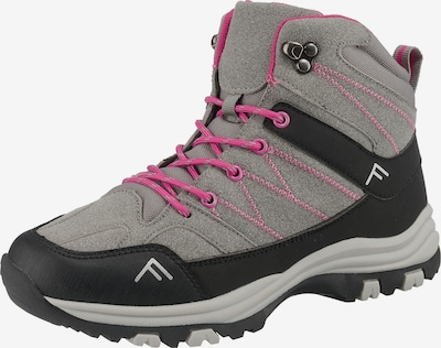 Freyling Outdoorschuh ' Mega Hike' in grau / pink / schwarz, Produktansicht
