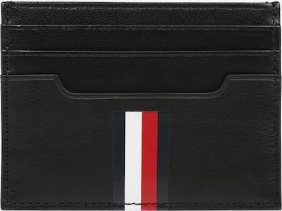 TOMMY HILFIGER Porte-monnaies en bleu marine / rouge feu / noir / blanc, Vue avec produit
