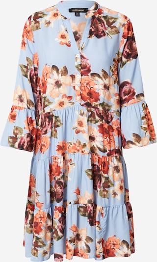 MORE & MORE Robe-chemise en bleu clair / vert / orange / rose / rouge, Vue avec produit