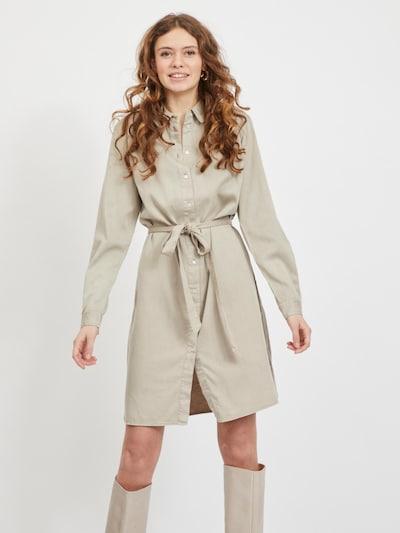 VILA Kleid 'Vibista' in beige, Modelansicht
