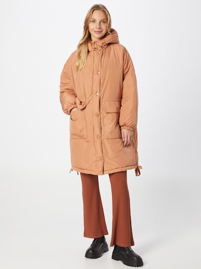 ABOUT YOU Winter Coat 'Elonie' in Peach, View model