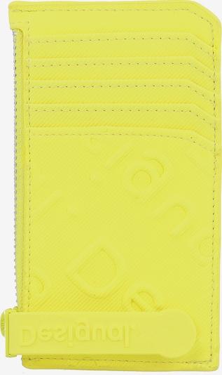 Desigual Etui 'Colorama' in neongelb, Produktansicht