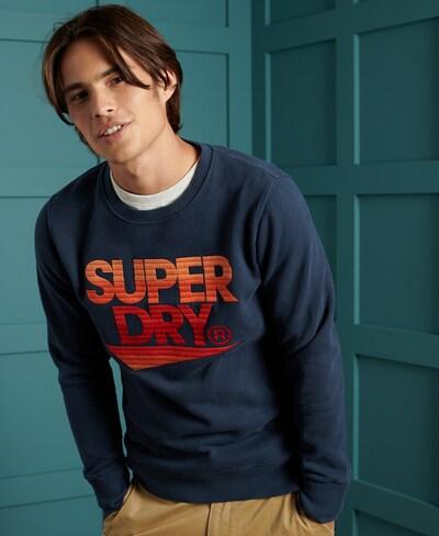 Superdry Sweatshirt in de kleur Marine: Vooraanzicht