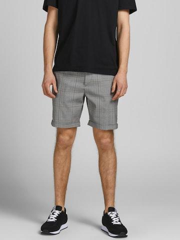 Pantaloni chino 'Connor' di JACK & JONES in nero