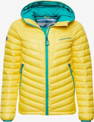Superdry Winterjas 'Alpine' in de kleur Aqua / Geel, Productweergave