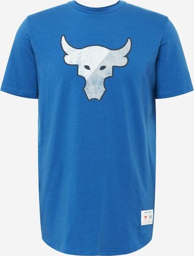 UNDER ARMOUR Sportshirt in blau / weiß, Produktansicht