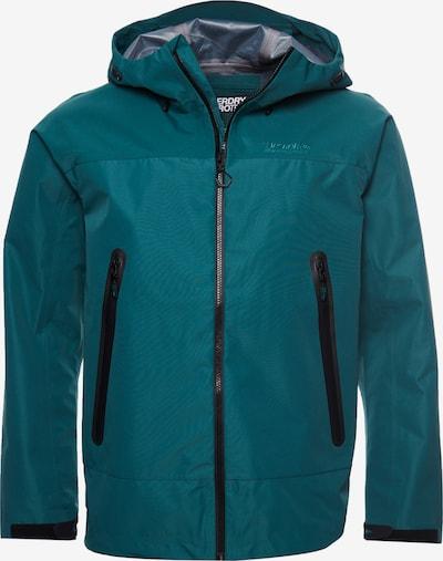 Superdry Functionele jas in de kleur Groen, Productweergave