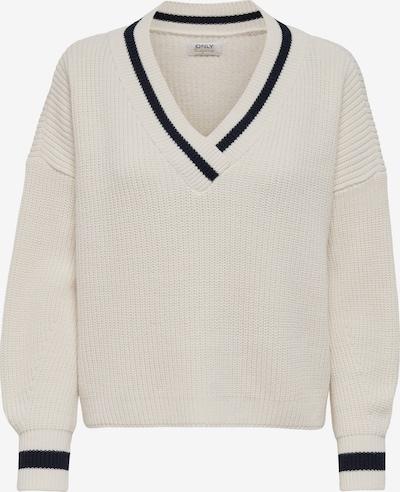 ONLY Pullover in anthrazit / weiß, Produktansicht