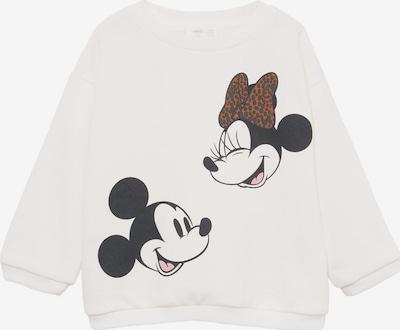 MANGO KIDS Sweatshirt in braun / pink / schwarz / weiß, Produktansicht