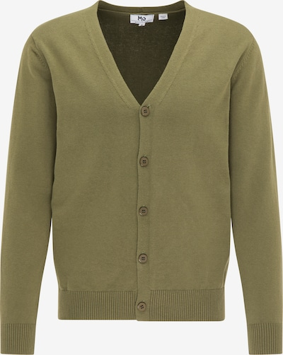 Mo ESSENTIALS Knit cardigan in olive, Item view