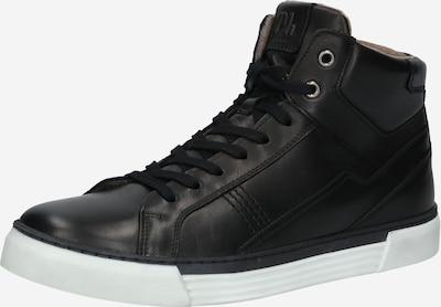 Pius Gabor Baskets hautes 'Softcow' en noir, Vue avec produit
