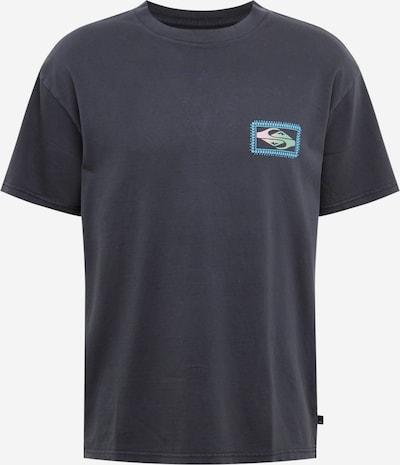 QUIKSILVER Functioneel shirt 'MIDNIGHT SHOW' in de kleur Gemengde kleuren / Zwart, Productweergave