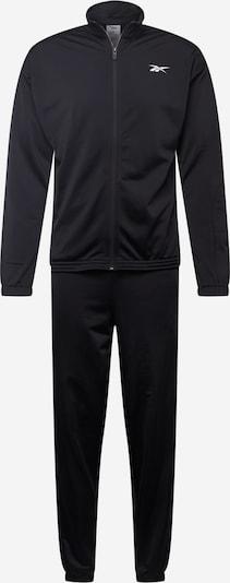 Reebok Sport Trainingsanzug in schwarz / weiß, Produktansicht