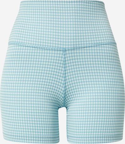 NIKE Спортен панталон в светлосиньо / бяло, Преглед на продукта