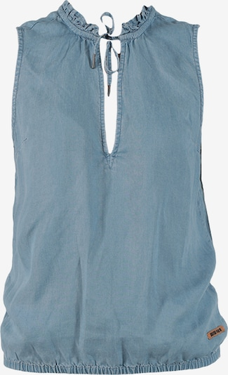Miracle of Denim Bluse in blue denim, Produktansicht