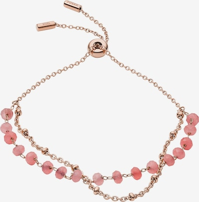 FOSSIL Armband in rosegold / pink, Produktansicht