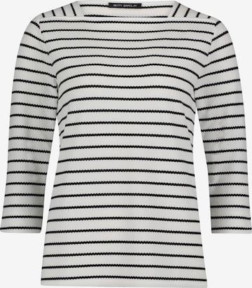 Betty Barclay Sweatshirt mit Streifen in Weiß