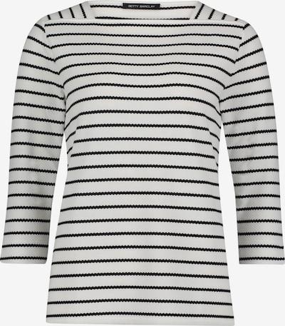 Betty Barclay Sweatshirt mit Streifen in schwarz / weiß, Produktansicht