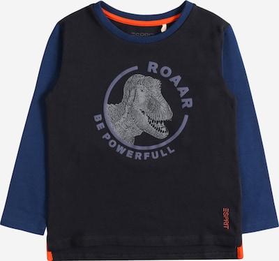 ESPRIT T-shirt i marinblå / mörkblå / orange, Produktvy