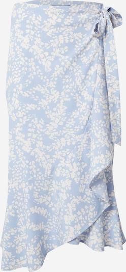 Gina Tricot Rok 'Franie' in de kleur Lichtblauw / Wit, Productweergave
