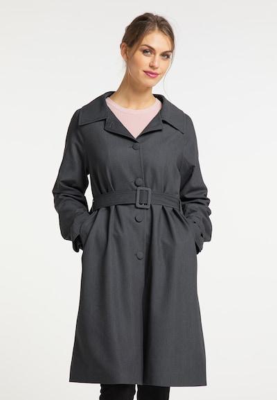 usha BLACK LABEL Between-Seasons Coat in Dark grey, View model
