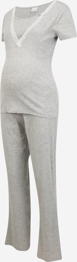 MAMALICIOUS Pyjama 'Maja' in hellgrau, Produktansicht
