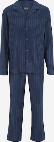 SCHIESSER Pyjama in Blau