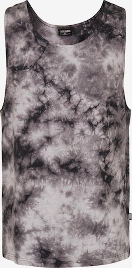 Urban Classics Shirt in taupe / schwarz / weiß, Produktansicht