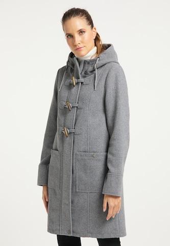 DreiMaster Klassik Mantel in Grey