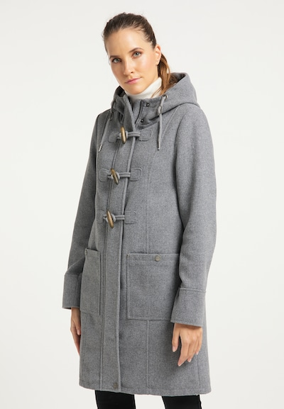 Palton de primăvară-toamnă DreiMaster Klassik pe gri, Vizualizare model