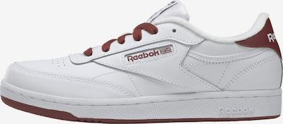Reebok Classics Sneaker 'Club C' in braun / weiß, Produktansicht