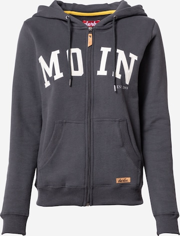 Derbe Sweat jacket in Grey