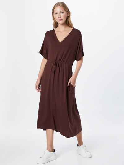 basic apparel Kleid 'Anjo' in braun, Modelansicht